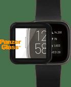 PanzerGlass Fitbit Versa 2 Screenprotector Glas Zwart