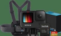 GoPro HERO 9 Black - Kit de Fixation sur Poitrine (128 Go)