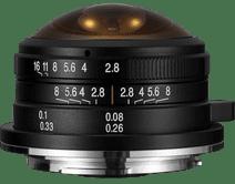 Venus LAOWA 4mm f/2.8 Circular Fisheye Fujifilm X-mount