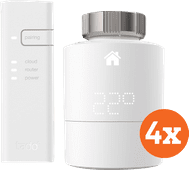 Tado Slimme Radiator Thermostaat Starter 4-Pack