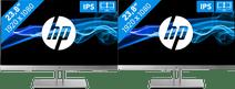 HP EliteDisplay E243 Set-up Double Écran PC