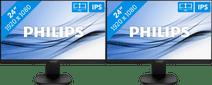 Philips 243S7EHMB/00 Set-up Double Écran PC