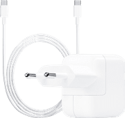 Apple USB-C Charger 30W + USB-C to USB-C Cable 2 Meters