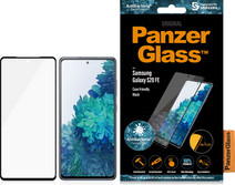 PanzerGlass Case Friendly Samsung Galaxy S20 FE Screenprotector Glas Zwart