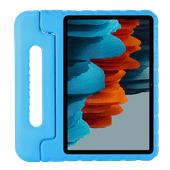 Just in Case Kids Case Samsung Galaxy Tab S7 Cover Bleu
