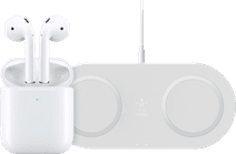 Apple Airpods 2 avec Boitier de Charge Sans Fil + Chargeur Sans Fil