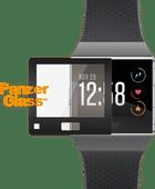 PanzerGlass Fitbit Ionic Screenprotector Glas Zwart