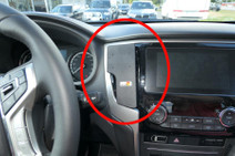Brodit Proclip Toyota Yaris 21 Dashboard Bevestigingsclip Zwart