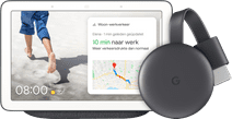 Google Nest Hub Charcoal + Google Chromecast 3