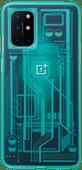 OnePlus 8T Quantum Back Cover Bleu