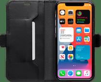 DBramante1928 Copenhagen Slim Apple iPhone 12 Pro Max Book Case Leer Zwart