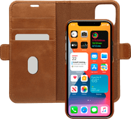 DBramante1928 Lynge Apple iPhone 12 Pro Max Book Case Leer Bruin