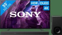 Sony OLED KD-55A8 + Soundbar