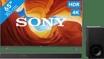 Sony KD-65XH9005 + Soundbar