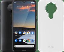 Nokia 5.3 64 Go Noir + Azuri TPU Nokia 5.3 Back Cover Transparent