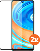 Azuri Tempered Glass Xiaomi Redmi Note 9 Pro Screenprotector Duo Pack