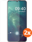 Azuri Tempered Glass Nokia 7.2 Screenprotector Duo Pack