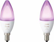 Philips Hue White and Color E14 Bluetooth Lot de 2
