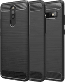 Just in Case Rugged Xiaomi Poco X3 Back Cover Zwart