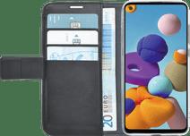 Azuri Wallet Magneet Samsung Galaxy A21s Book Case Zwart