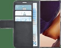 Azuri Wallet Magneet Samsung Galaxy Note 20 Ultra Book Case Zwart