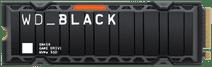 WD Black SN850 500GB NVMe met Heatsink