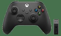 Microsoft Xbox Manette Sans Fil + Adaptateur Sans Fil pour Windows 10 (2020)
