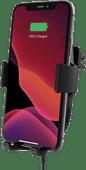 Belkin Boost Up Draadloze Autolader 10W met Telefoonhouder Ventilatierooster Zwart