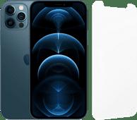 Apple iPhone 12 Pro 128GB Pacific Blue + InvisibleShield Glass Elite Screenprotector