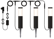 Innr OPL 130 C Outdoor Pedestal Lights 3-Pack