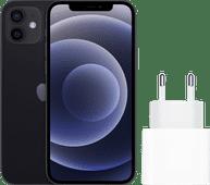 Apple iPhone 12 64 Go Noir + Apple Chargeur USB-C 20 W
