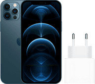 Apple iPhone 12 Pro 128 Go Bleu Pacifique + Apple Chargeur USB-C