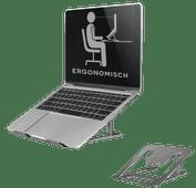 Neomounts by Newstar NSLS085GREY Opvouwbare Laptopstandaard Grijs