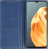 OPPO A91 Book Case Blauw