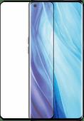 Azuri Tempered Glass OPPO Reno 4 Screenprotector Rinox Armor Zwart