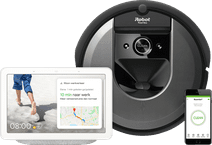 iRobot Roomba i7 + Google Nest Hub Chalk