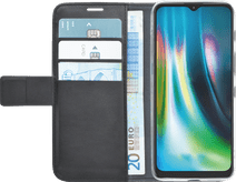 Azuri Wallet Motorola Moto G9 Play / E7 Plus Book Case Zwart