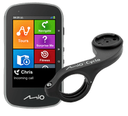 Mio Cyclo Discover Plus + Mio Cyclo Bike Mount Plus Stuurhouder