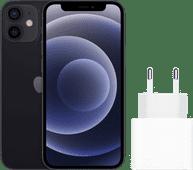 Apple iPhone 12 mini 128 Go Noir + Apple Chargeur USB-C 20 W