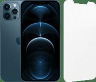 Apple iPhone 12 Pro Max 256GB Blauw + InvisibleShield Glass Elite Screenprotector