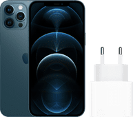 Apple iPhone 12 Pro Max 256GB Blauw + Apple Usb C Oplader 20W