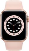 Apple Watch Series 6 4G 40mm Goud Aluminium Roze Sportband