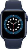 Apple Watch Series 6 4G 40mm Blauw Aluminium Blauwe Sportband