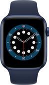 Apple Watch Series 6 4G 44mm Blauw Aluminium Blauwe Sportband