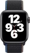 Apple Watch SE 4G 40mm Space Gray Aluminium Houtskool Nylon Sport Loop