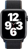 Apple Watch SE 4G 44mm Space Gray Aluminium Houtskool Nylon Sport Loop