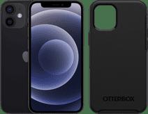 Apple iPhone 12 mini 64GB Zwart + Otterbox Symmetry Back Cover Zwart