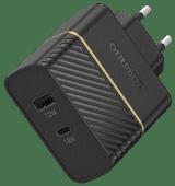 OtterBox Oplader Zonder Kabel 2 Usb Poorten 18W Power Delivery Zwart