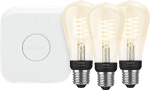 Philips Hue Filamentlamp White Edison E27 Bluetooth Starter 3-pack
