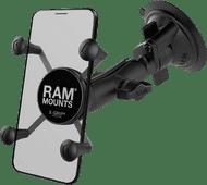 RAM Mounts Universele Telefoonhouder Auto Zuignap Voorruit/Dashboard Klein